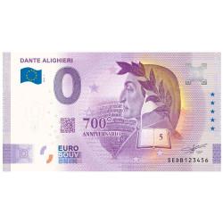 Billet Souvenir 0 Euro - Dante