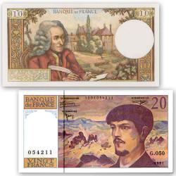 Lot 2 billets 10 Francs...
