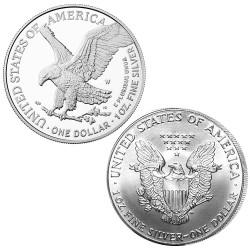 Lot 2 x 1 Dollar Argent USA...