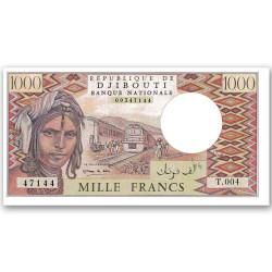 1000 Francs Djibouti 1988