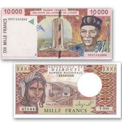 Lot 2 billets Afrique...