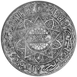 20 Francs Argent Maroc...