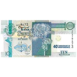 10 Roupies - Seychelles 2013