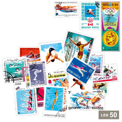 50 timbres Natation