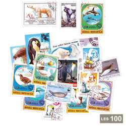 100 timbres Animaux polaires