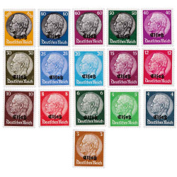 16 timbres Allemagne...