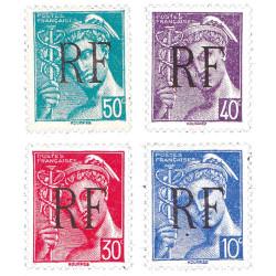 4 timbres Libération de...
