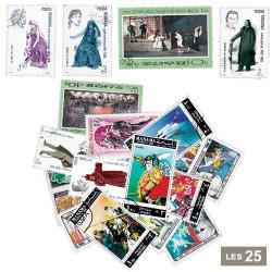 25 timbres théâtre