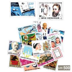 500 timbres célébrités