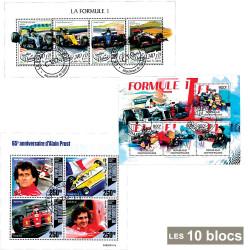 10 blocs Formule 1