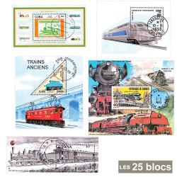 25 blocs Trains