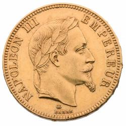 100 Francs Or Napoléon III...