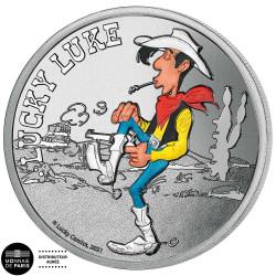 La médaille colorisée Lucky...
