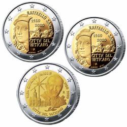 Lot 3 x 2 Euro Vatican 2020