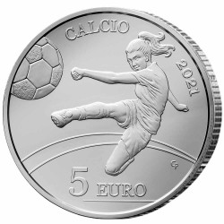 5 Euro Argent Saint-Marin...