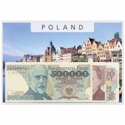 Lot 3 billets polonais