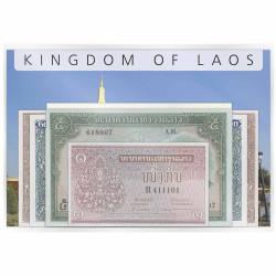 Lot 7 billets Laos 1962-1963