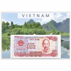 Lot 7 billets Vietnam...