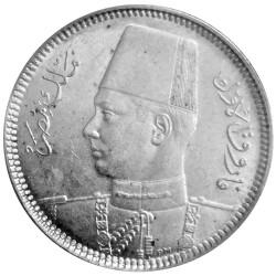 5 Piastres Argent Égypte...