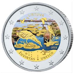 2 Euro Lituanie 2021 -...