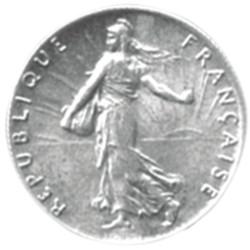 1916 - 50 CENTIMES ARGENT -...
