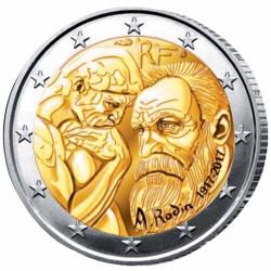 2 Euro France 2017 - Rodin