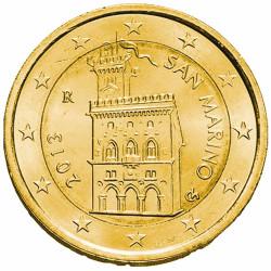 2 Euro Saint-Marin dorée à...