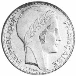 20 Francs Argent Turin 1933