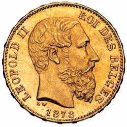 20 Francs Or Belgique...