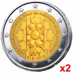 Les 2 x 2 Euro France 2018...