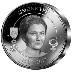 Simone Veil Argent BE