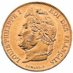 20 FRANCS OR 1844 A - LOUIS...