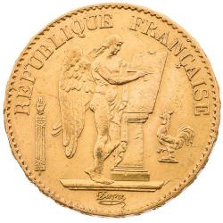 20 Francs Or Génie 1848A