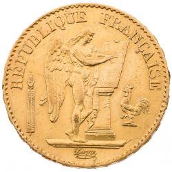 20 Francs Or Génie 1887 A...