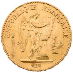 20 Francs Or Génie 1890 A...