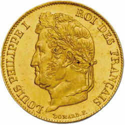 20 Francs Or Louis-Philippe...