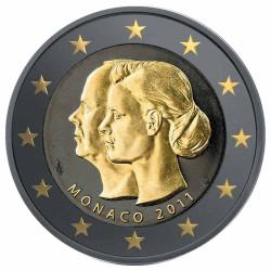 2 Euro Ruthénium Monaco BU...