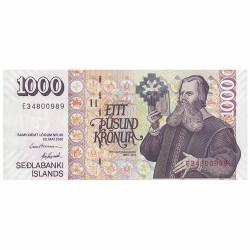 Billet 1000 Couronnes...