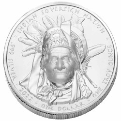 1 Dollar Argent Oglala...