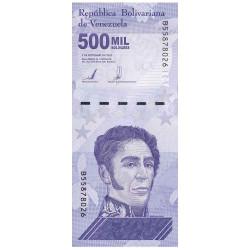 500 000 Bolivares Venezuela...