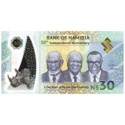 30 Dollars Namibie 2020