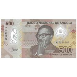 500 Kwanzas Angola 2020