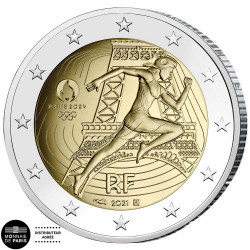2 Euro France BE 2021