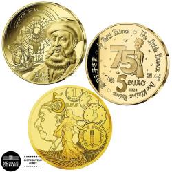 Lot 3 x 5 Euro France BE...