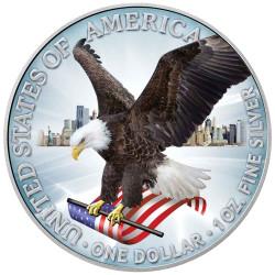 1 Dollar Argent USA BU 2021...