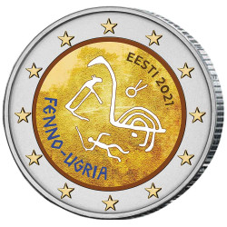 2 Euro Estonie 2021...