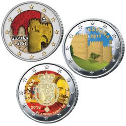 Lot 3 x 2 Euro Espagne...