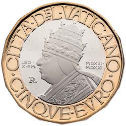 5 Euro Vatican BE 2021 -...