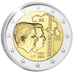 2 Euro Belgique BE 2021 -...