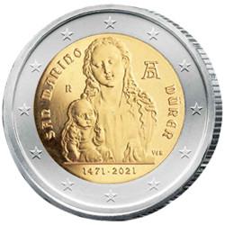 2 Euro Saint-Marin BU 2021...